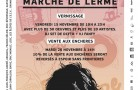 Du 15 au 28 novembre, RE-DESIGN BOXON s'expose au marché de Lerme pour sa vente aux enchères