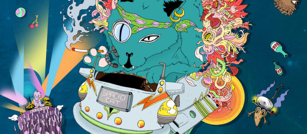 Julien Minet - Spacio Cat EP - Artwork - 1440pix wxeb